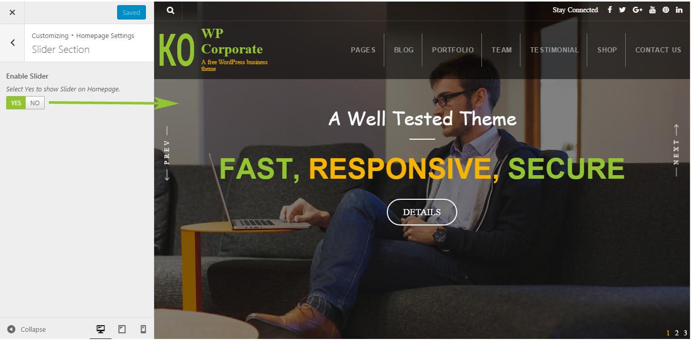 WP Corporate - Documentation - 8DegreeThemes