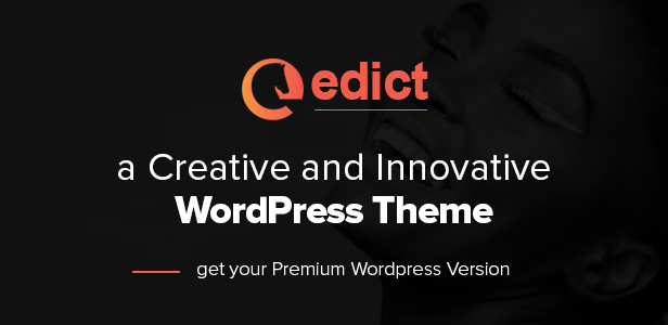 EDICT - Eight Degree Innovative Corporate WP Theme