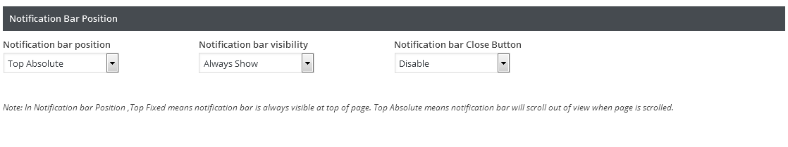 notification-posiotion