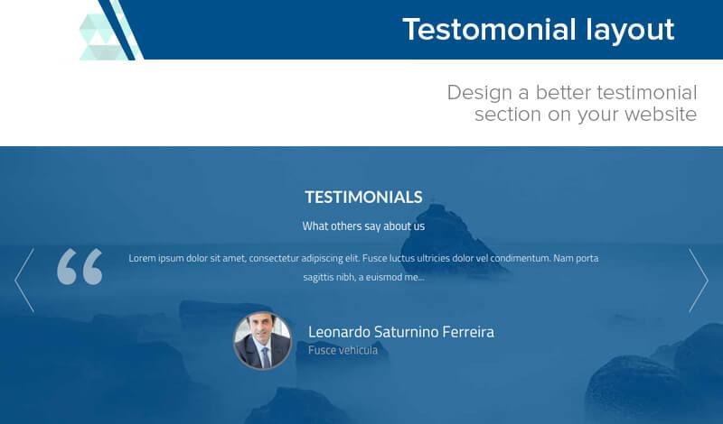 testimonial-layout