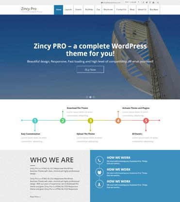 Zincy Pro - Premium Multipurpose WordPress Theme