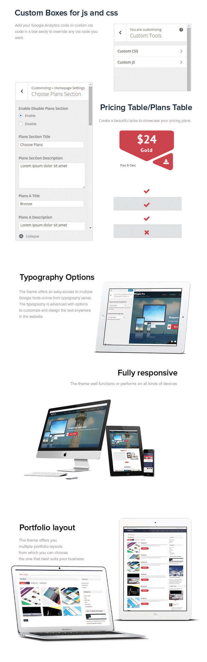 Wimpie Pro – Premium Responsive WordPress Business Theme