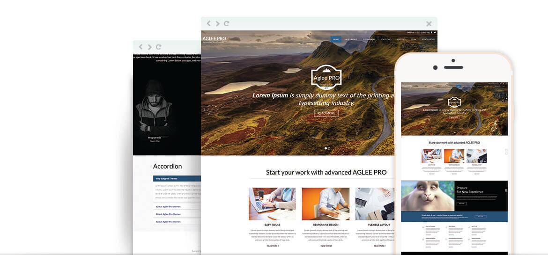 Aglee Pro – Best Premium Responsive Business WordPress Theme