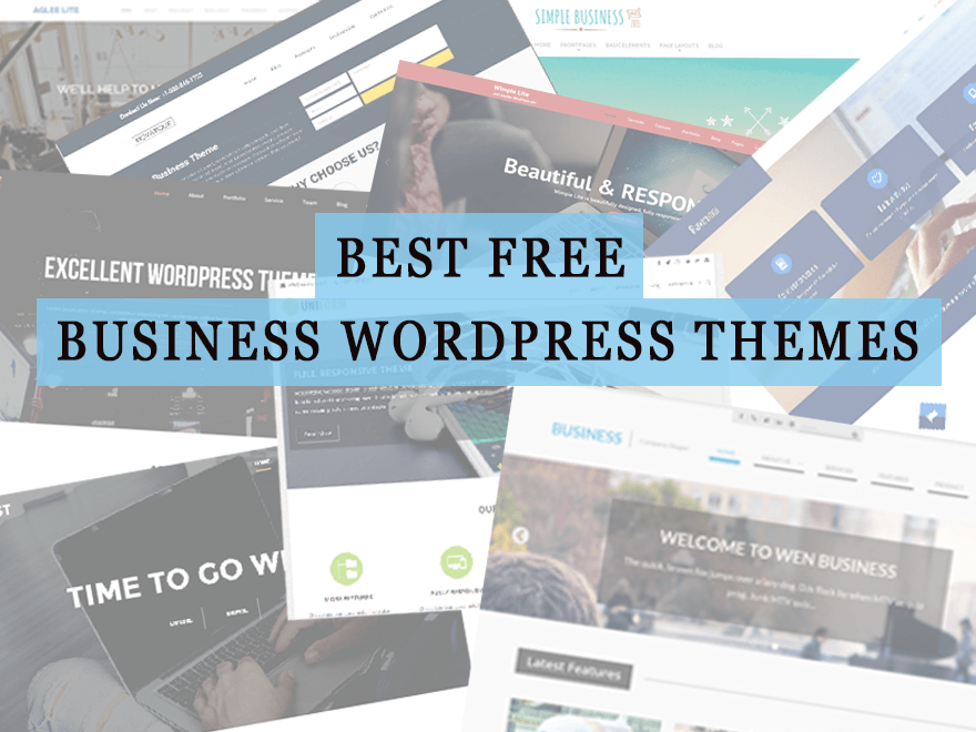 21 best free business wordpress themes 2018 free business wordpress themes accmission Choice Image