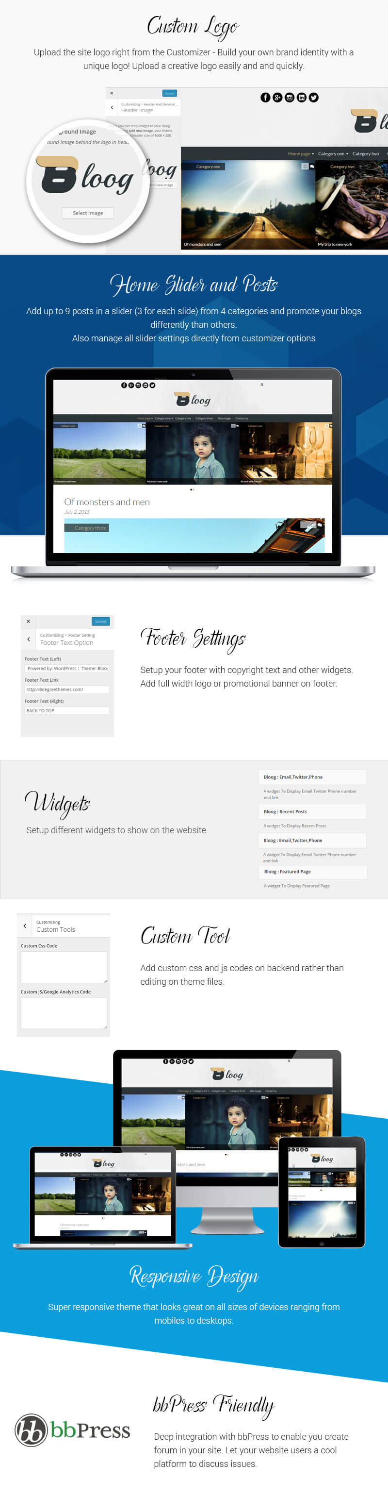 Bloog Lite – Free WordPress Blog Journal Theme