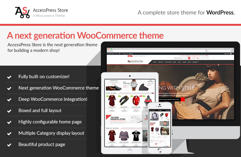AccessPress Store - Best E-commerce and WooCommerce WordPress Themes and Templates