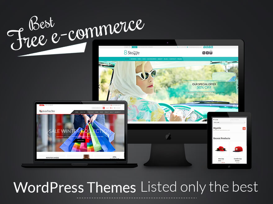17+ Best Free eCommerce WordPress Themes 2017