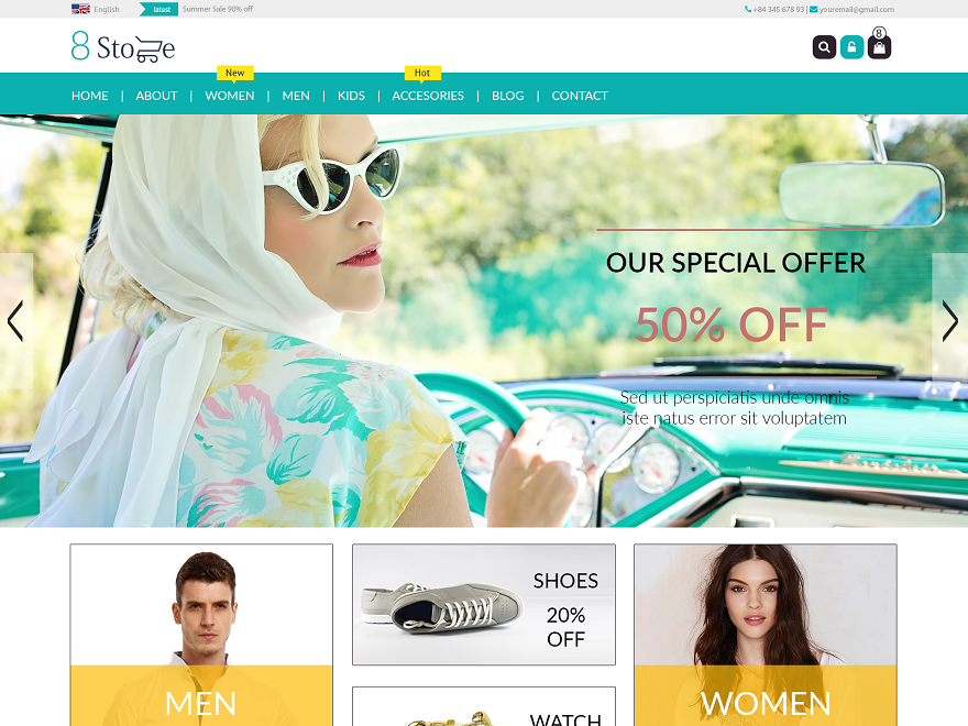 17+ Best Free eCommerce WordPress Themes 2017 - 8Degree Themes