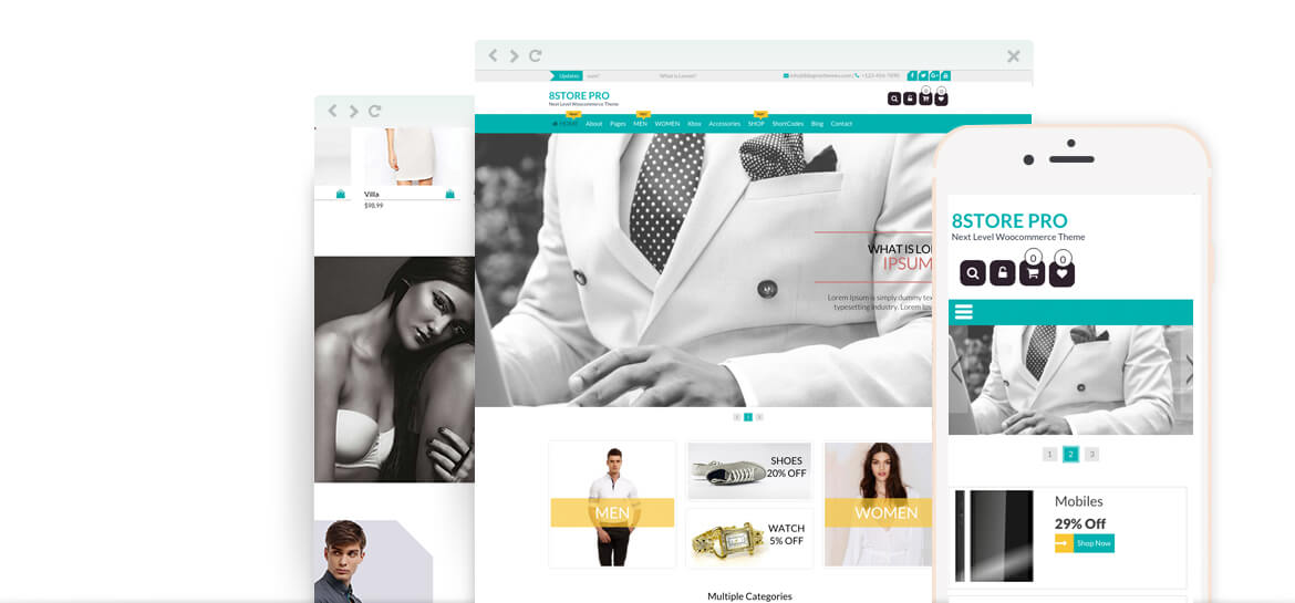 EightStore Pro – Best Premium WooCommerce, eCommerce and Store WordPress Theme