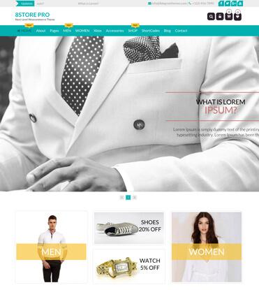 EightStore Pro - Best Premium WooCommerce, eCommerce and Store WordPress Theme