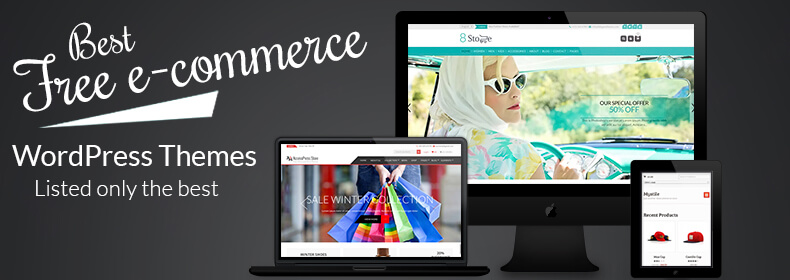 17+ Best Free eCommerce WordPress Themes 2018
