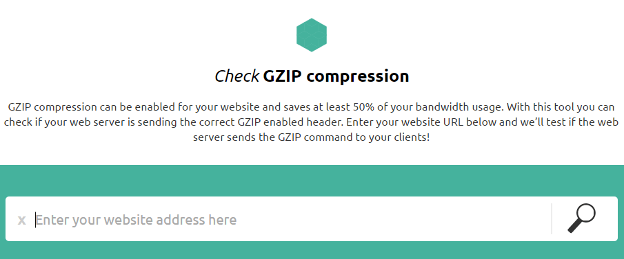 Check-GZIP-compression