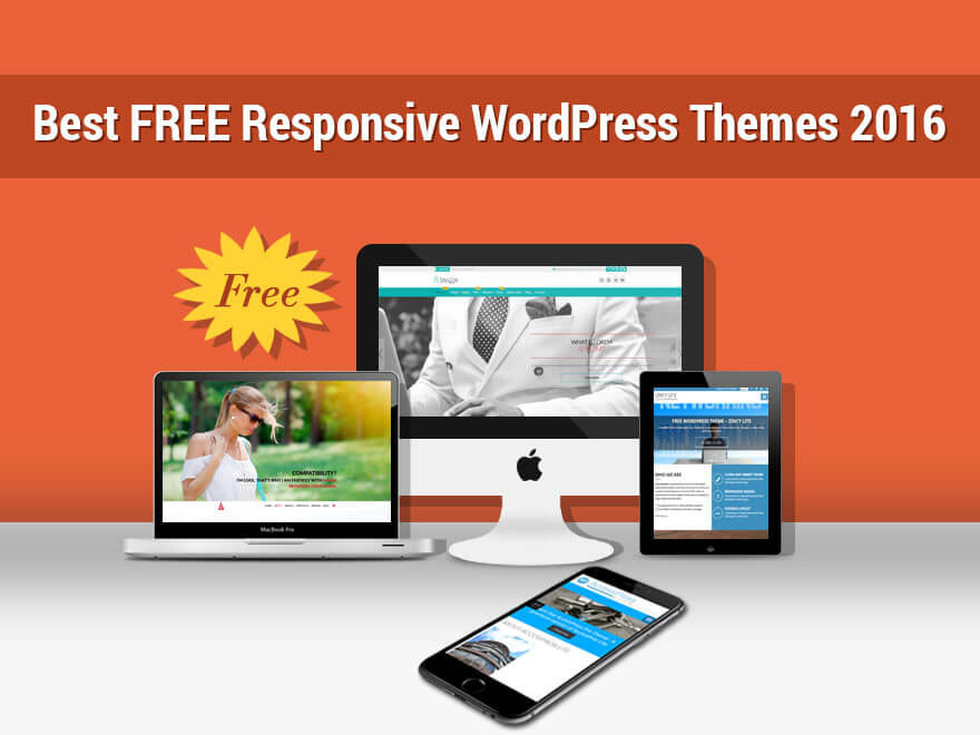 21+ Best FREE Responsive WordPress Themes 2017
