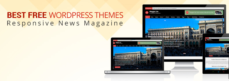 WordPress Themes for Magazine