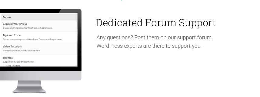 Dedicated-forum-support
