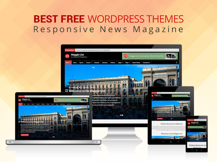 15+ Best FREE News Magazine WordPress Themes 2017