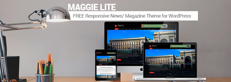 Maggie Lite: Best Free Magazine WordPress Theme