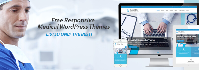 EightMedi Lite: Best Free Responsive Medical WordPress Theme