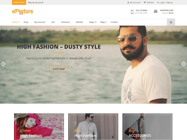 WP Store - Free WooCommerce eCommerce WordPress theme
