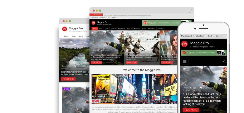 Maggie Pro – Premium WordPress Magazine & Newspaper Theme