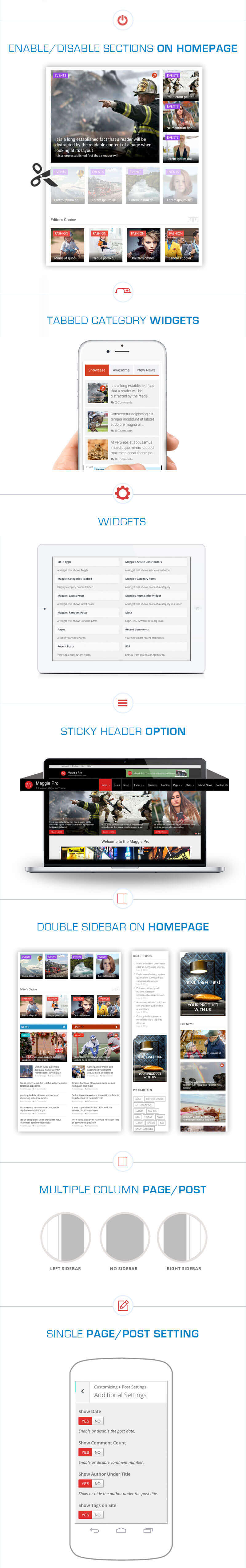 Maggie Pro – Premium WordPress Magazine & Newspaper Theme