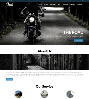 FortySeven Street - Free Multipurpose Responsive WordPress Theme