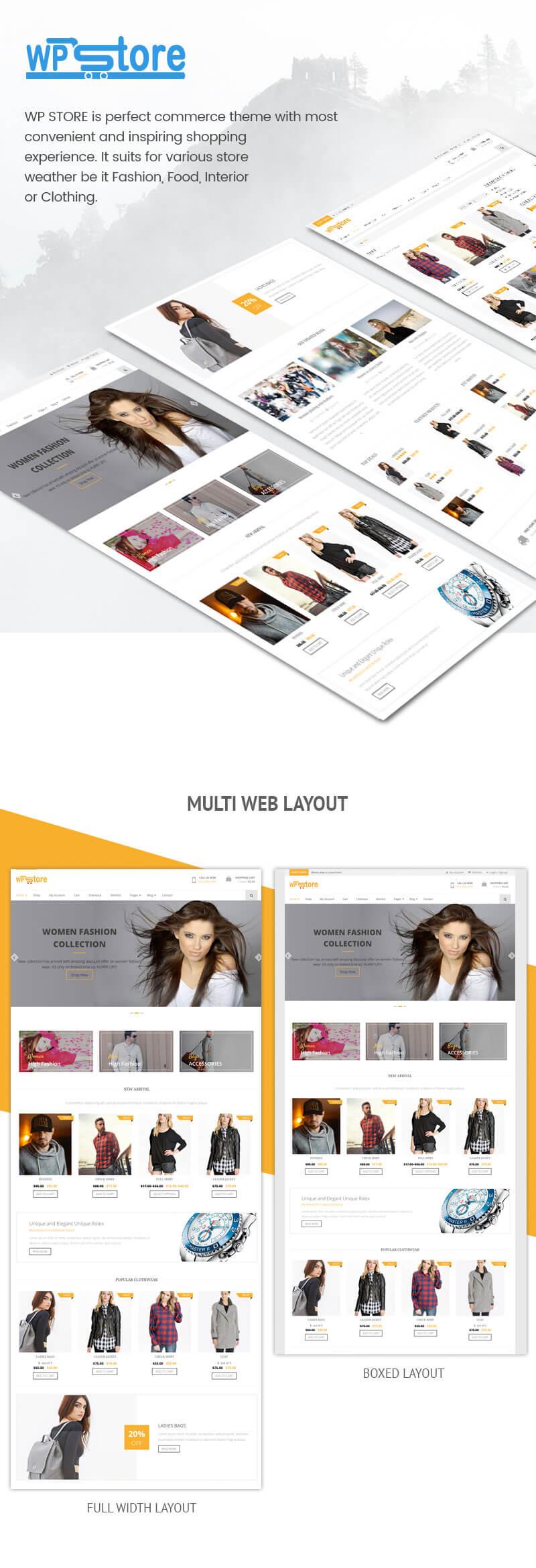 WP Store – Best Free WooCommerce Store WordPress Theme