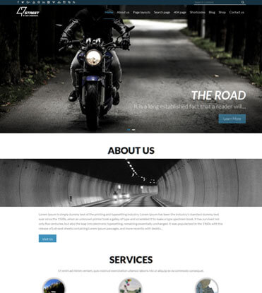 47 Street - Premium Multipurpose Responsive WordPress Theme