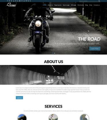 47 Street - Premium Multipurpose Responsive WordPress Theme