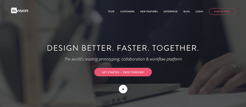 InvisionApp - Tool to streamline your web development process