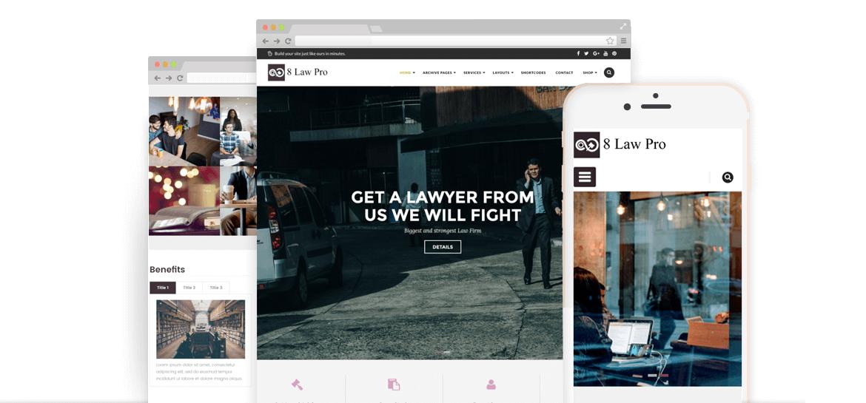 EightLaw Pro – Premium Lawyer WordPress Theme For Law Firm