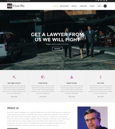 EightLaw Pro - Premium Lawyer WordPress Theme For Law Firm