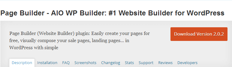 AIO WP Builder - Top WordPress Drag and Drop Page Builder Plugin