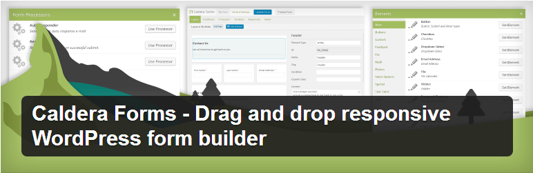 Caldera Forms - Top WordPress Drag and Drop Page Builder Plugin