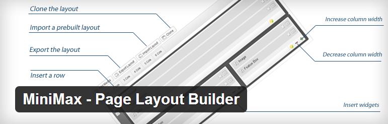 MiniMax- Page Layout Builder