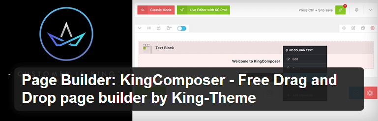 KingComposer - Top WordPress Drag and Drop Page Builder Plugin