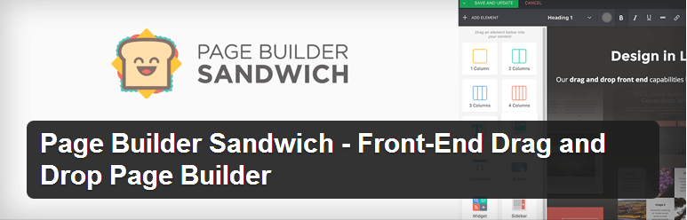 Page Builder Sandwich - Top WordPress Drag and Drop Page Builder Plugin