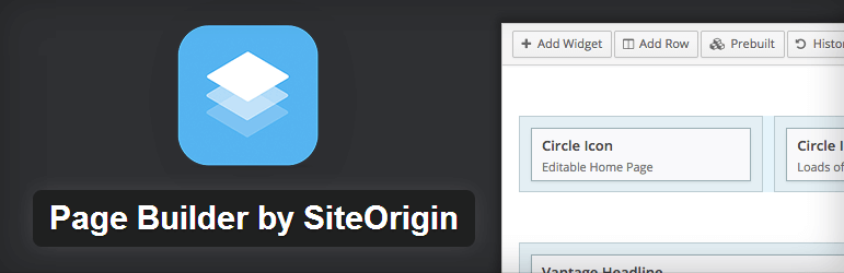SiteOrigin Page Builder - Top WordPress Drag and Drop Page Builder Plugin