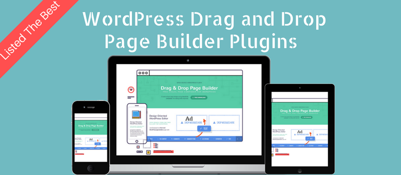 Top WordPress Drag and Drop Page Builder Plugin