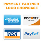 payment logo showcase
