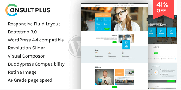 Consultancy Corporate Business WordPress Theme by theemon