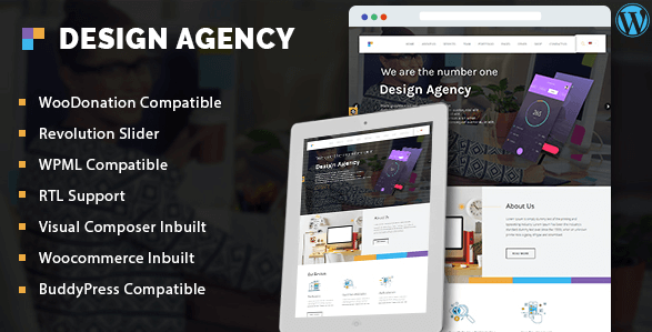 Design Agency Corporate Business Multi Purpose WordPress Theme
