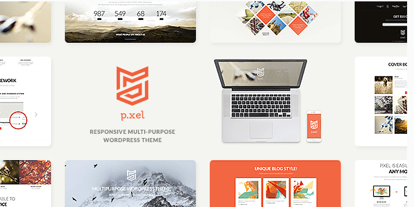 Pixel Multipurpose WordPress Theme