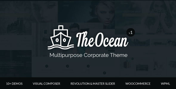 The Ocean Multipurpose WordPress Theme