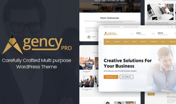 agency pro business wordpress theme
