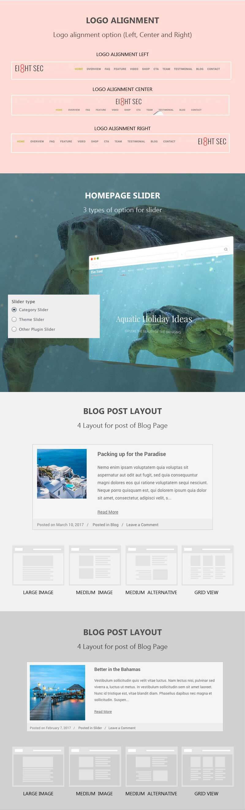 Eight Sec Pro – Premium One Page WordPress Theme