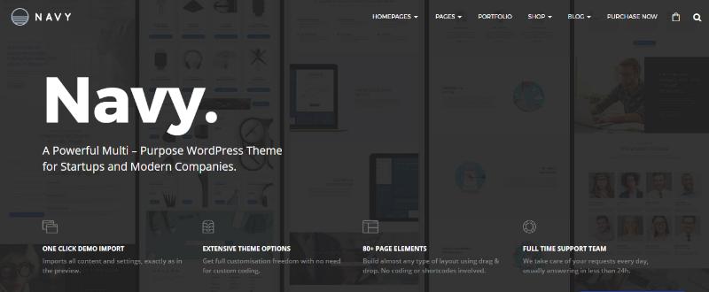 Best Premium WordPress Business themes for 2017