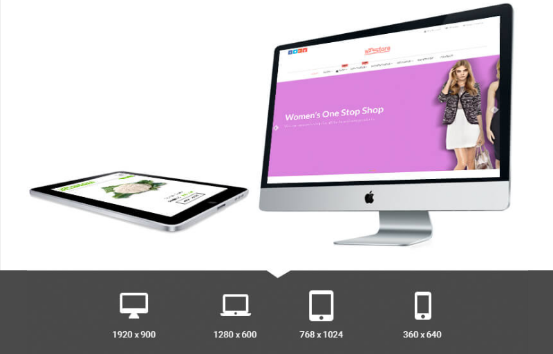 Fully responsive - WP Store Pro