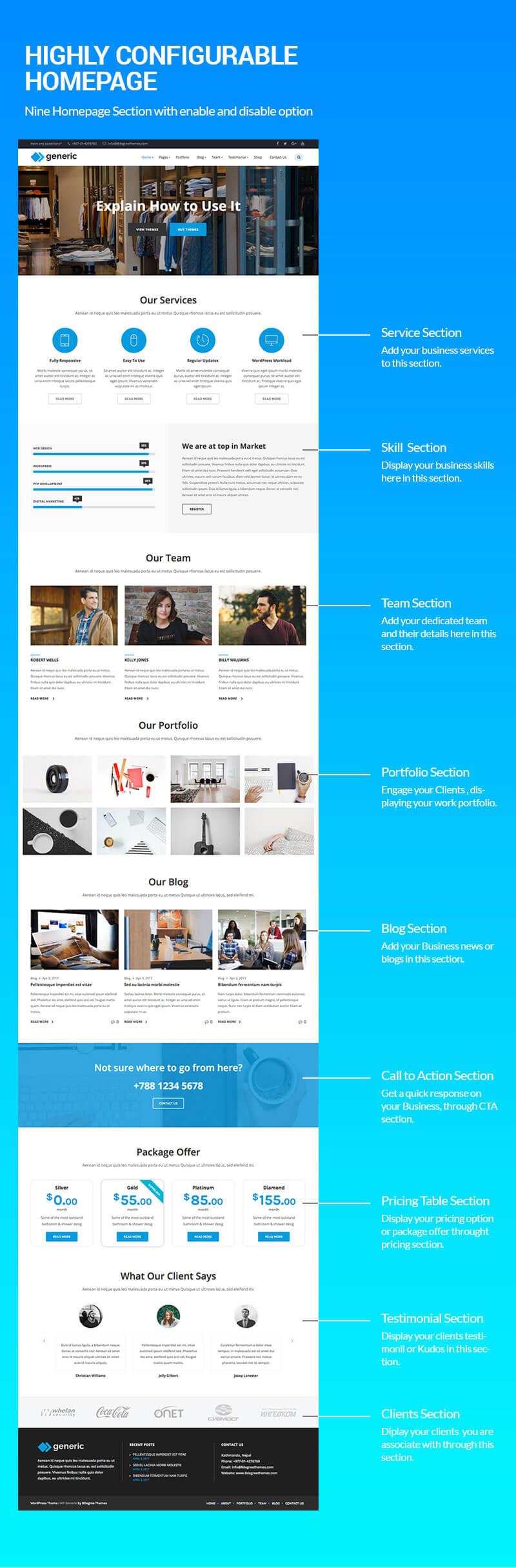 WP Generic – Best Multipurpose WordPress Theme