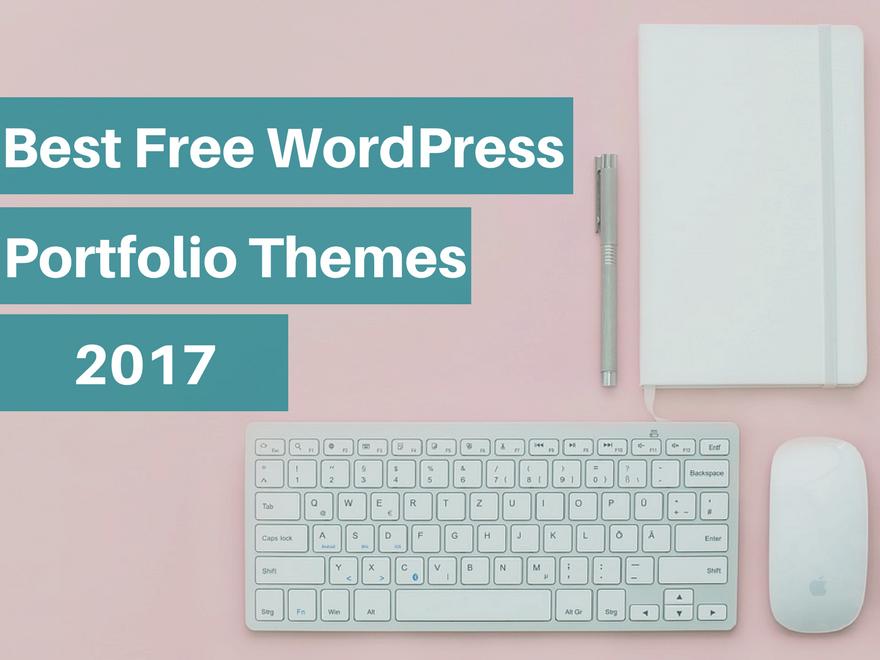 20 Free Portfolio WordPress Themes for 2017